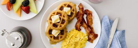Just in Time for National Waffle Day, Hampton by Hilton Cooks Up Expansive New Breakfast Menu