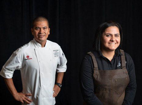 Talent Shines In Culinary And Mixology Faceoff At Marriott International Headquarters